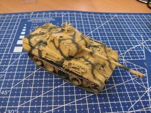 1/72 ESCI Panther Ausf. A tank scheme
