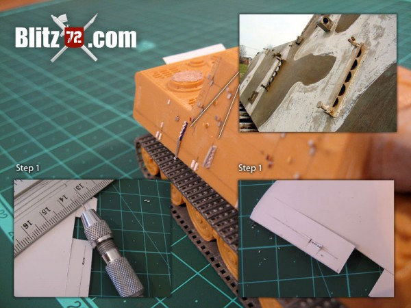 Pioneer tools Jagdtiger attachment points