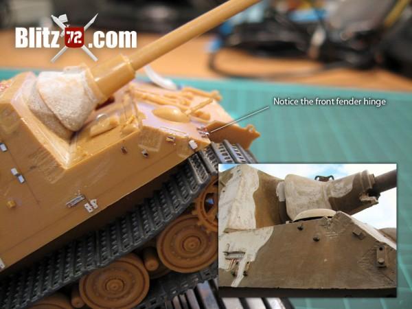 Jagdtiger scratchbuilt details