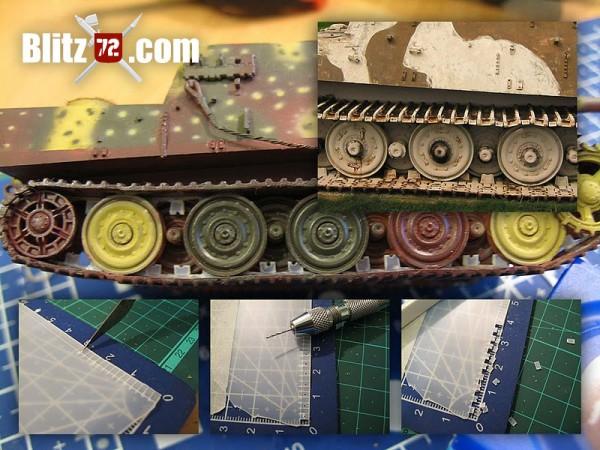 Jagdtiger track horn detail