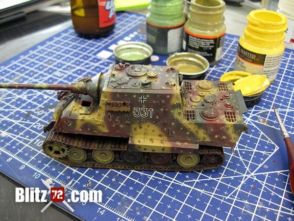 Decaled 1/72 Jagdtiger