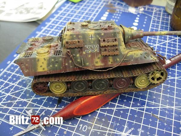 Weathered 1/72 Jagdtiger