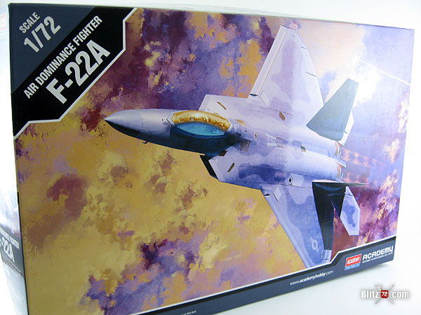 Academy F-22A Air Dominance Fighter 1/72