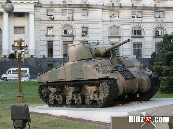 Sherman V (M4A4 75mm) - Ejercito Argentino