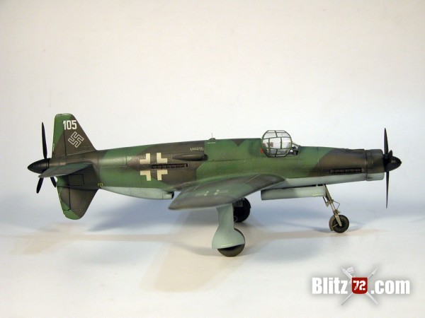 Dragon 1/72 Dornier Do 335 Finished