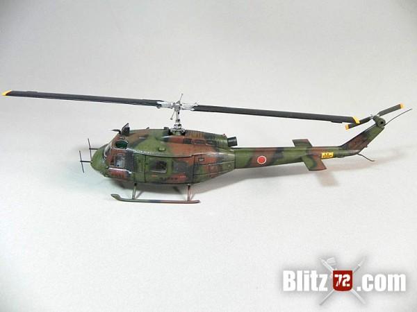 Hasegawa 1/72 UH-1H Iroquois JGSDF by Raul Cruz