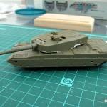 WIP Trumpeter 1/72 JGSDF Type 90 MBT