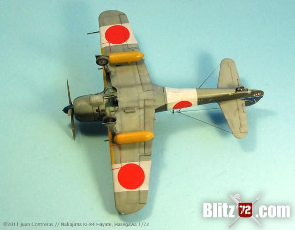 """1/72 Hasegawa ki-84 Hayate """"Frank"""""""