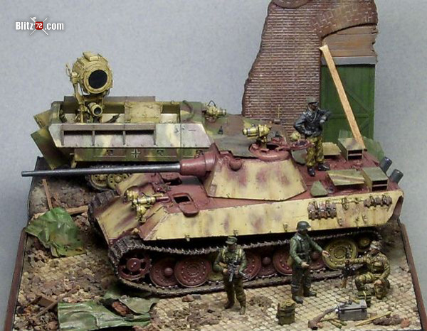 1/72 Night Fighting Panther Ausf. F Tank