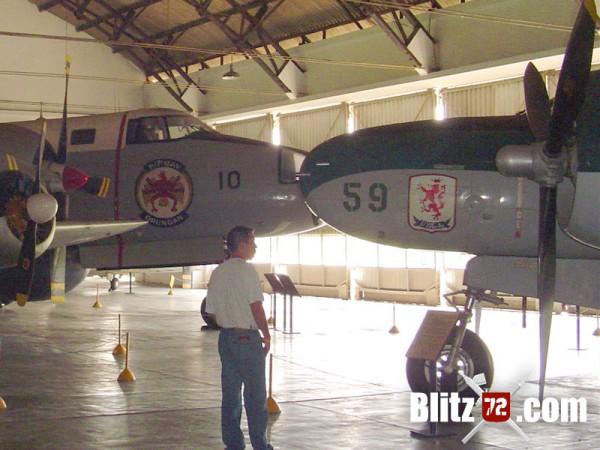 A-26B gun nose Brazillian Air Force Museum - MUSAL