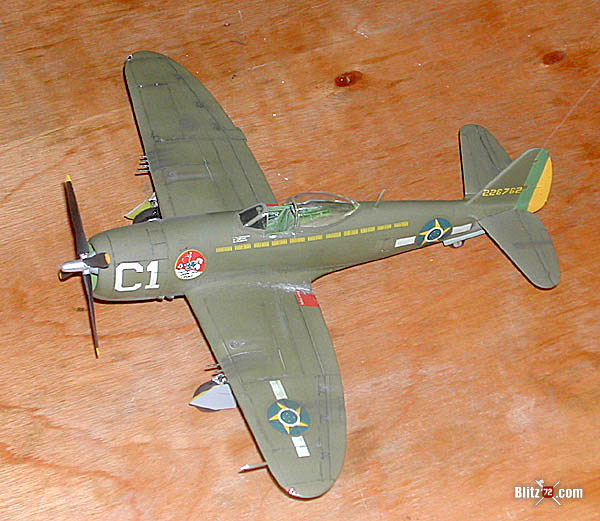 FCM P-47D decal sheet example