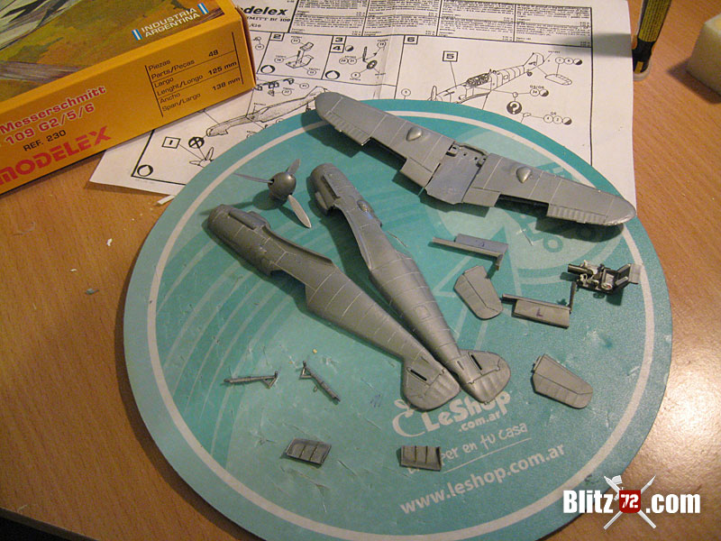 WIP Heller - Modelex 1/72 bf 109G & Not your average Kingfisher | Blitz72.com