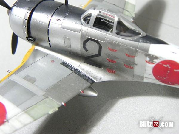 Hasegawa 1/72 Nakajima Ki-44 Shoki (tojo) in NMF