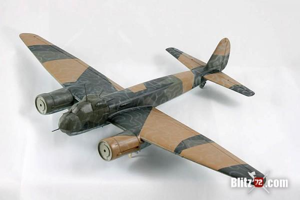 Italeri 1/72 junkers JU-88 wavy squiggle Wellenmuster pattern camo