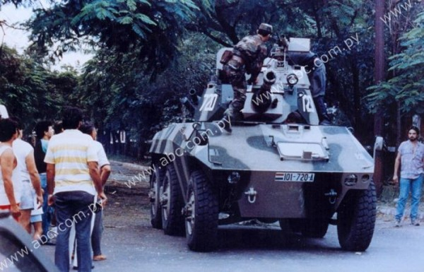 Engesa EE-9 Cascavel - Ejercito Paraguayo