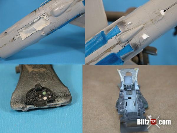 1/72 Hobby Boss A-7E Corsair II details