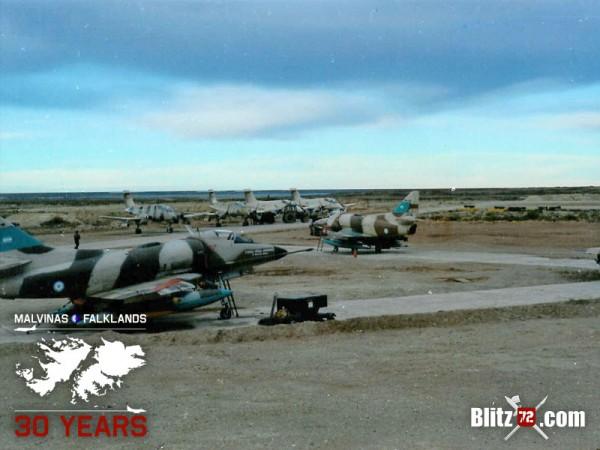 Malvinas Falklands Anniversary 30th Condor Decals 72005 Decals Sheet for Mirage, Skyhawk, Sea Harrier, Harrier Gr3