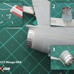 Heller Mirage IIIE 1/72 Argentina Air Force