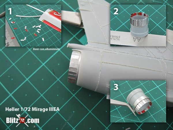 Heller Mirage IIIE 1/72 Argentina Air Force