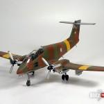 Modeling a special 1/72 Malvinas/Falklands IA-58 Pucará