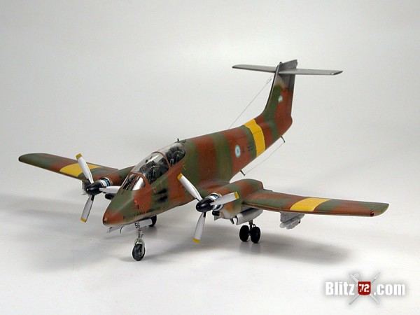 Special Hobby - Argentinean Air Force IA-58 Pucará A-556