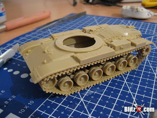 ESCi 1/72 M-60 running gear correction