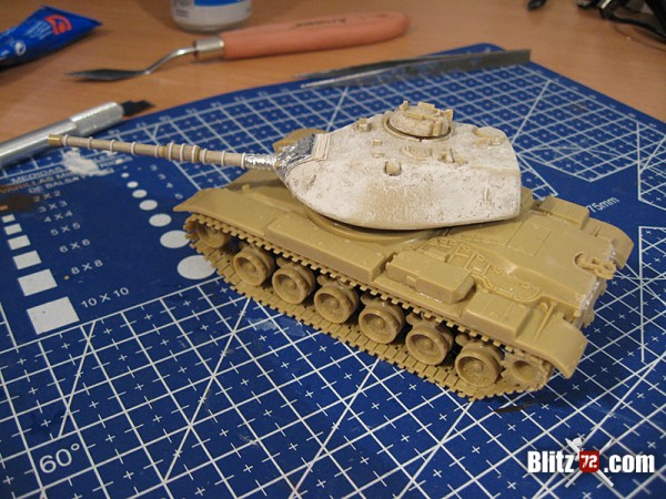 ESCI 1/72 M-60 Mantlet