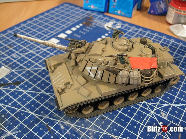 ESCi 1/72 Magach conversion by Jose Teixido