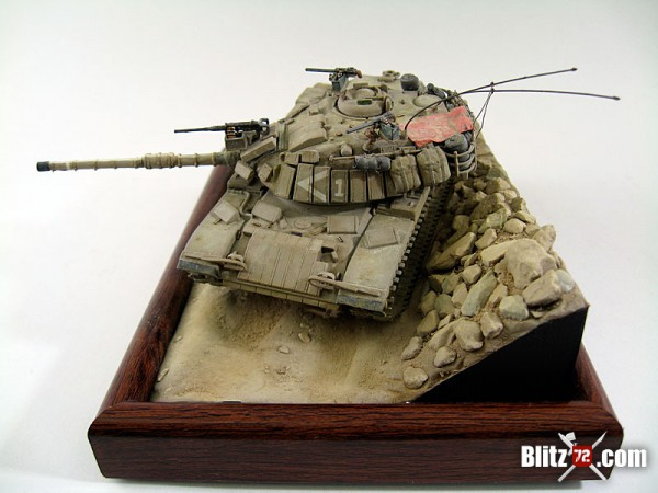 1/72 Magach tank model by Jose Teixido