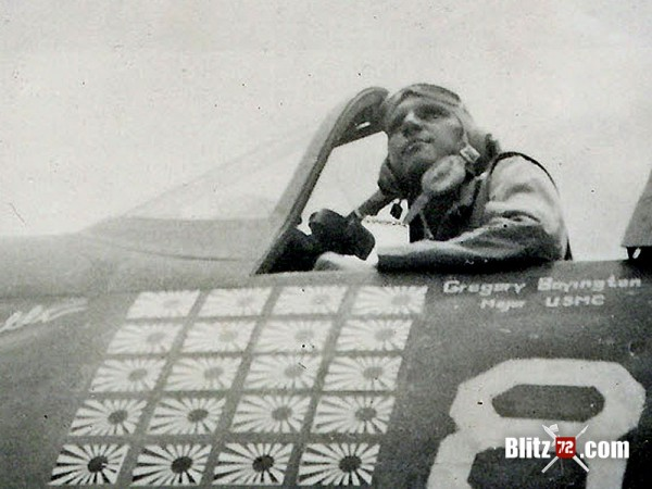 Pappy Boyington #86
