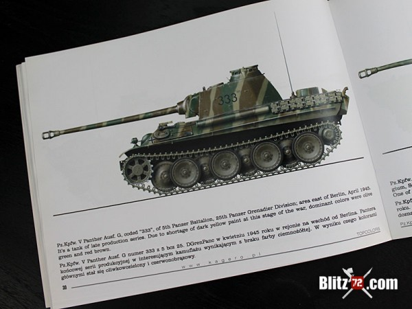 Kagero Topcolors #1 Pz.Kpfw V Panther book