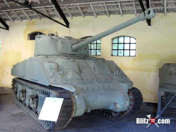 Sherman Firefly - Ejercito Argentino - Museum