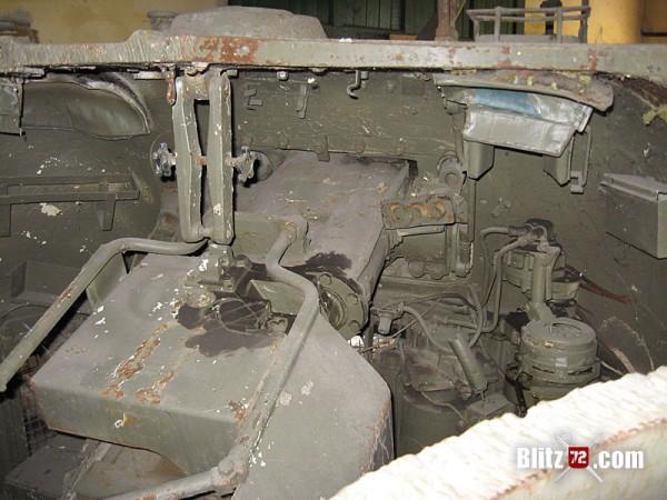 Sherman Firefly Turret - Modified 17 Pdr gun breech