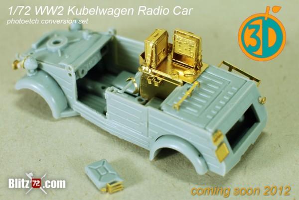 Orange 3D 1/72 jeep photo etch set