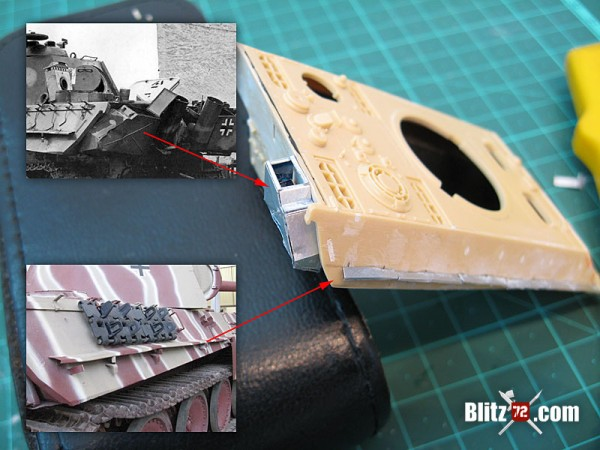 Revell 1/72 Panther Ausf. G work in progress