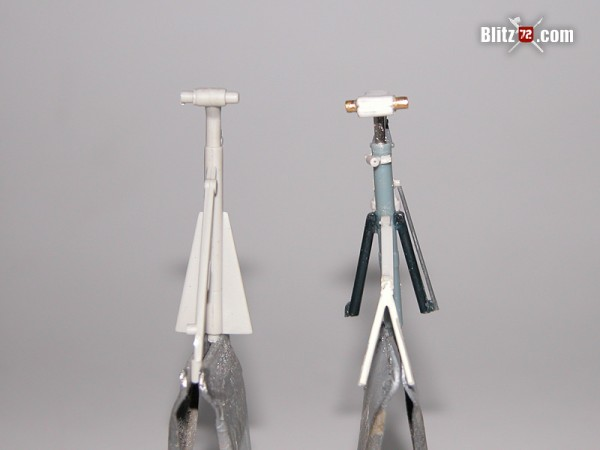 1/72 Trumpeter tu-16 badger nose landing gear