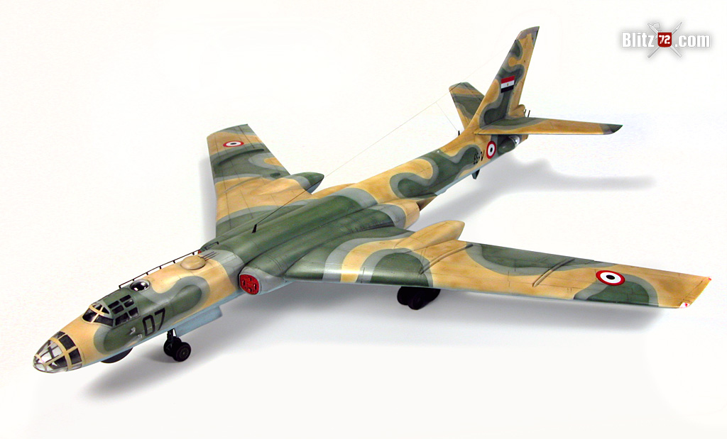 1/72 Trumpeter tu-16 badger - Egyptian Air Force