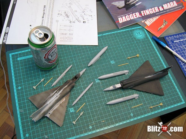 1/72 argentine air force mirage - heller
