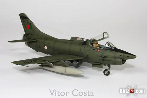 1/72 Portuguese Air Force Fiat G.91 Gina