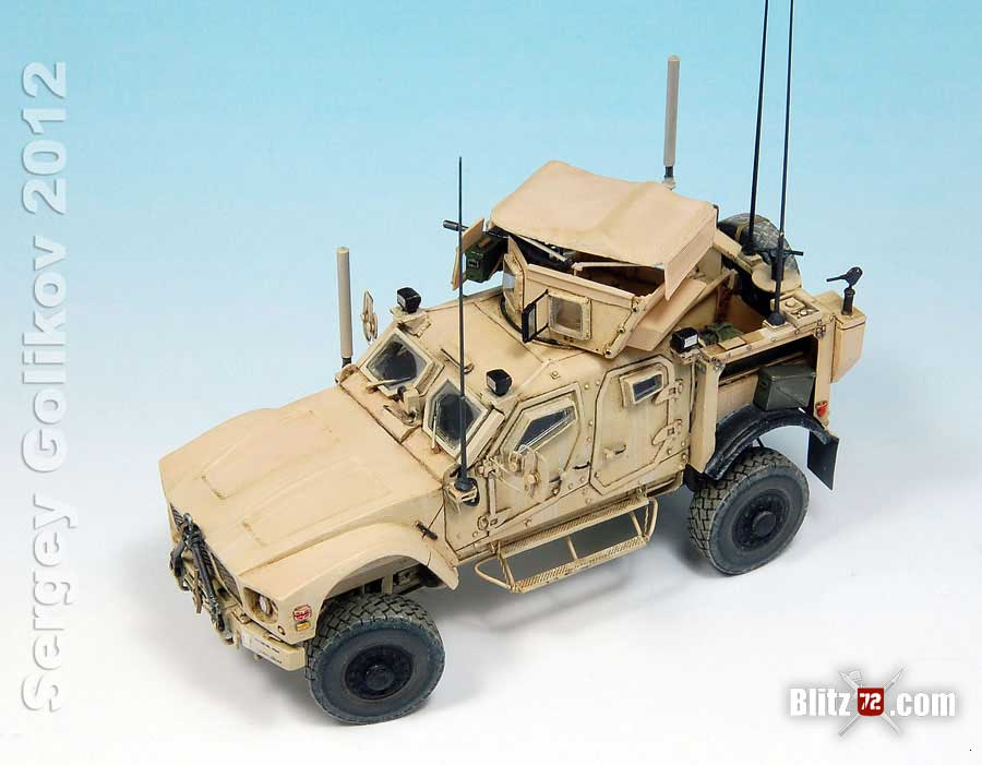 1/72 Resinec Oshkosh M-ATV resin kit by Sergei Golikov