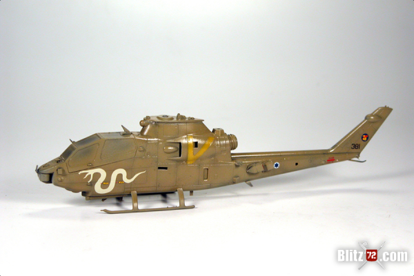Hobby Boss AH-1s Cobra WIP