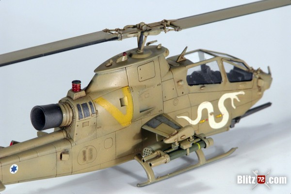"Hobby Boss 1/72 IAF AH-1S Cobra ""Tzefa"" with Sky Decals ""Israeli helicopters #20 sheet"