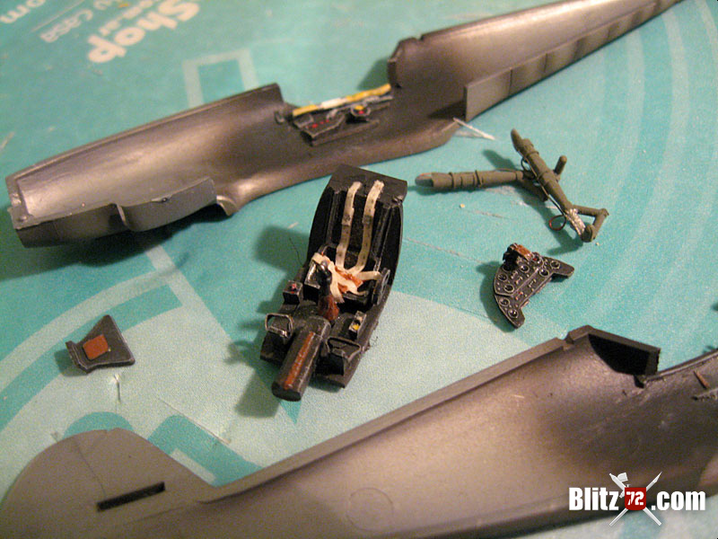 1st for 2013: Modelex (Argentine Heller rebox) 1/72 Bf 109 G6 Wilde