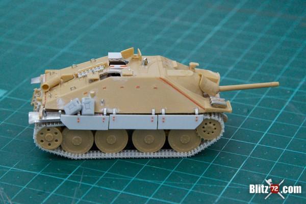 Hetzer ESCI 1/72 jagdpanzer