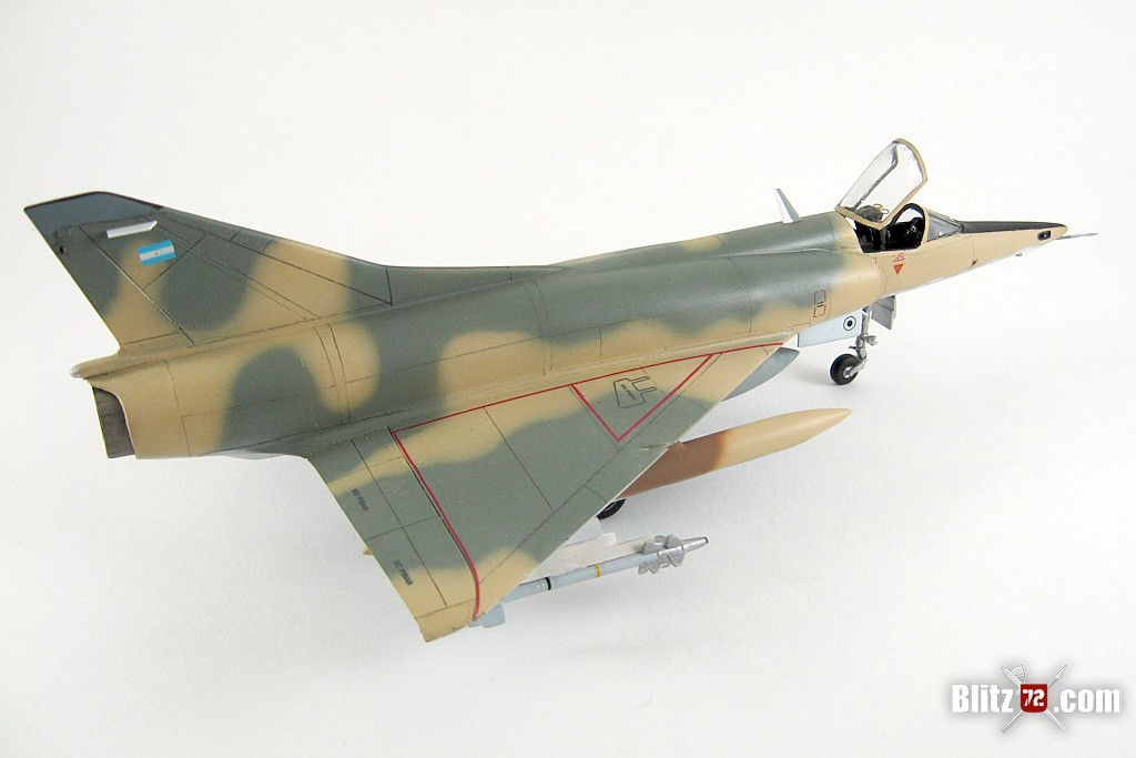Argentine Air Force Mirage 5P Mara - Heller 1/72 conversion