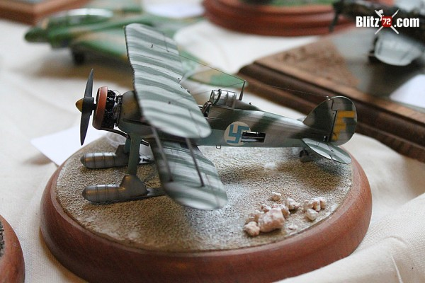 Pablo Curone's Gloster Gladiator in 1/72