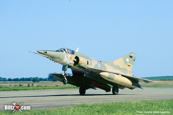 Argentine Air Force Mirage 5P Mara