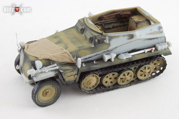 ACE 1/72 sd kfz 250/1 German half track