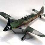 Academy 1/72 FW-190 D9, Blue 12, heavily weathered Dora
